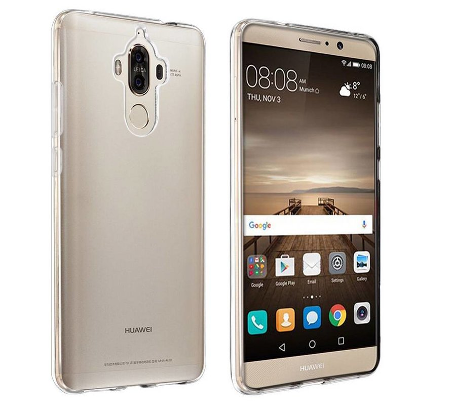 Huawei Mate 9 Hoesje Siliconen Transparant - CoolSkin3T