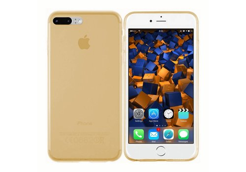 CoolSkin3T iPhone 8 Plus/7 Plus Transparant Goud