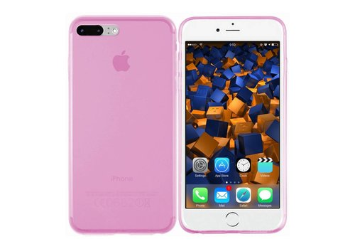 CoolSkin3T iPhone 8 Plus/7 Plus Transparant Roze