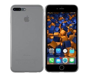 Colorfone iPhone 8 Plus en 7 Plus Hoesje Transparant Zwart CoolSkin3T