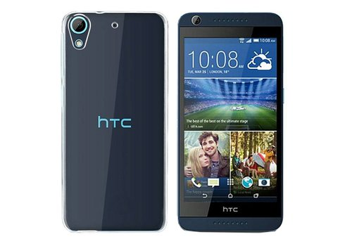 CoolSkin3T HTC Desire 628 Transparant Wit