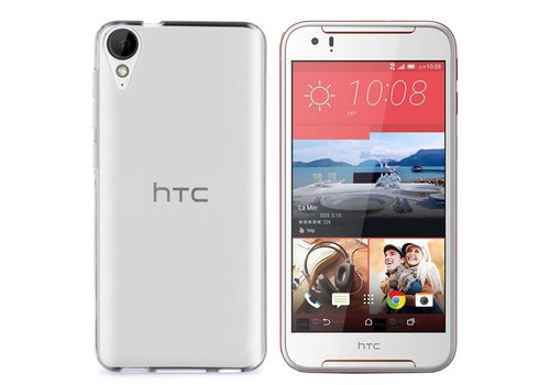 CoolSkin3T HTC Desire 830 Transparant Wit