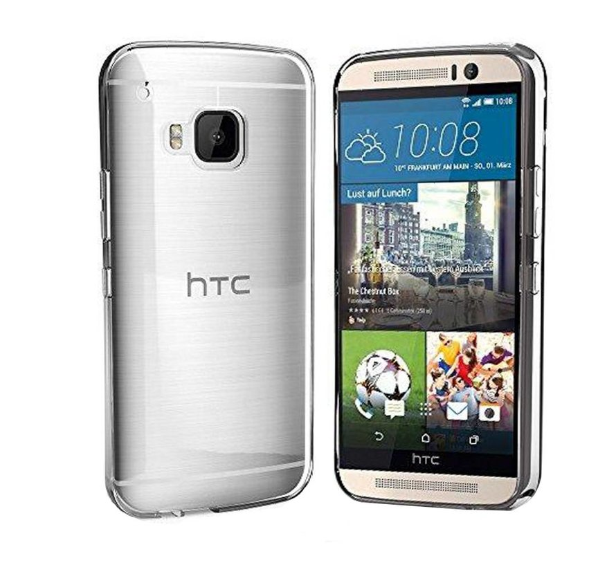 HTC One S9 Hoesje Siliconen Transparant - CoolSkin3T