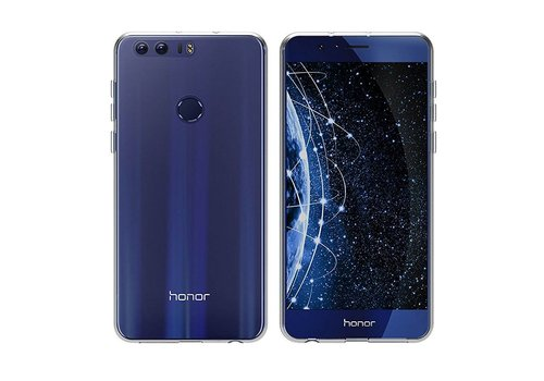 CoolSkin3T Huawei Honor 8 Transparant Wit