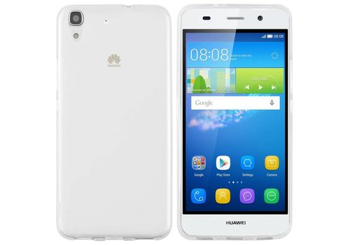CoolSkin3T Huawei Y6 Transparent White