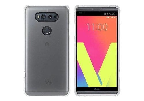 LG V20 Hoesje Transparant CoolSkin3T