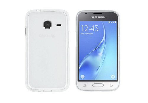 CoolSkin3T Samsung J1 Mini Transparent White