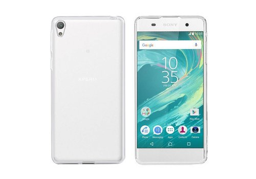 CoolSkin3T Sony Xperia E5 Transparant Wit