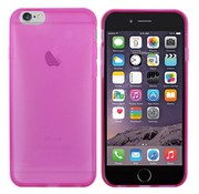 Colorfone iPhone 6 Hoesje Transparant Donkerroze  CoolSkin3T