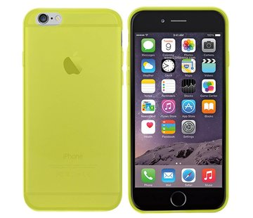 Colorfone iPhone 6 Hoesje Transparant Geel CoolSkin3T