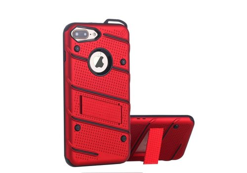 Hoes Armour iPhone 8 Plus/7 Plus Rood