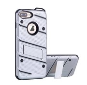 Colorfone iPhone 8 en 7 Hoesje Zilver Armor Case