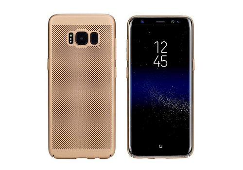 Case Mesh Holes Samsung J7 2016 Gold