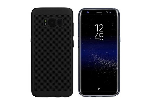 Case Mesh Holes Samsung J7 2016 Black