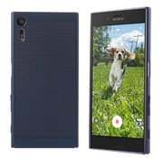 Colorfone Sony XZ and Xzs Case Blue - Mesh Holes