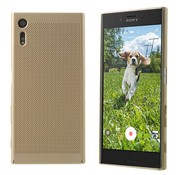 Colorfone Sony XZ and Xzs Case Gold - Mesh Holes