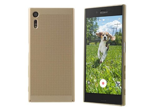 Case Mesh Löcher Sony XZ/XZs Gold