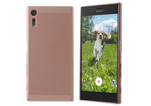 Case Mesh Löcher Sony XZ/XZs Rose Gold