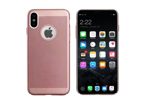 Hoes Mesh Holes iPhone X/Xs Goud