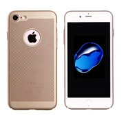 Colorfone iPhone 7 Hoesje Goud - Mesh Holes