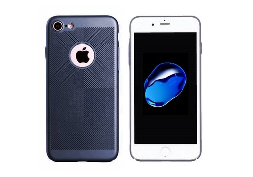 Case Mesh Holes iPhone 7 Plus Blue