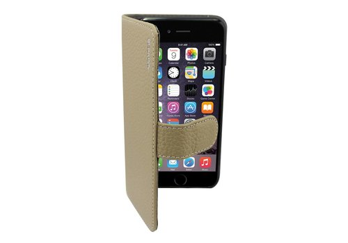 Suncia Leather5 Case iPhone 6 Plus Grijs