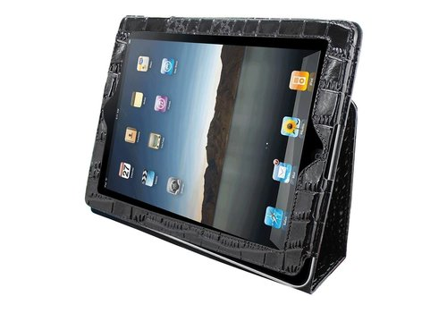 Business Pro iPad 2 / 3 / 4 Crocodile Black