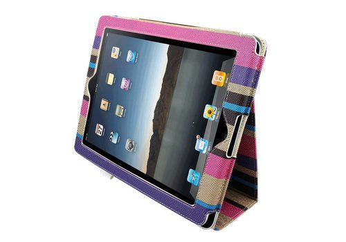 iPad 2 and 3 and 4 Rainbow #1 - Case B.Color