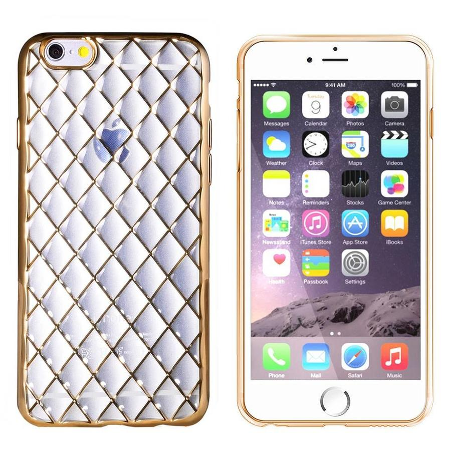 iPhone 6 en 6S Hoesje Goud - CoolSkin Diamond