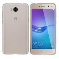 Case CoolSkin3T for Huawei Y6 2017 / Y5 2017 Transparent White