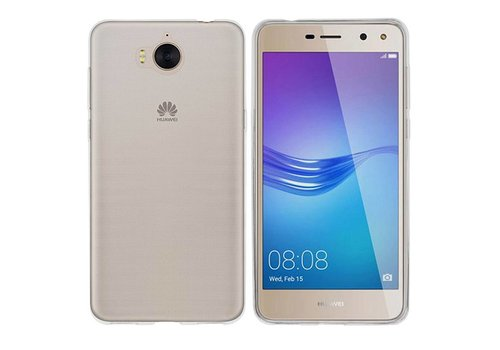 CoolSkin3T Huawei Y6 2017 / Y5 2017 Transparent White