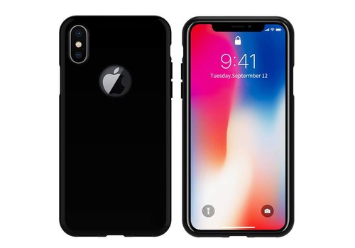 CoolSkin Apple iPhone X/Xs Piano Zwart