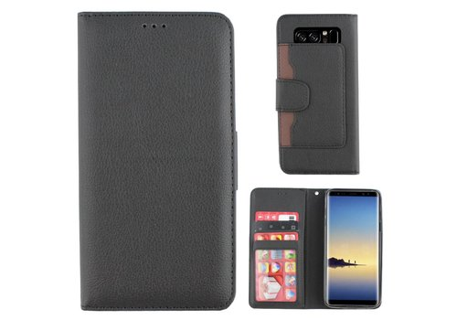 Wallet Case PU Note 8 Black