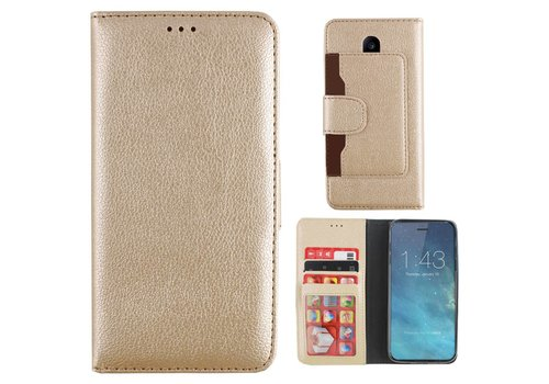 Wallet Case PU iPhone X/Xs Gold