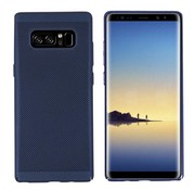 Colorfone Samsung Note 8 Hoesje Blauw - Mesh Holes