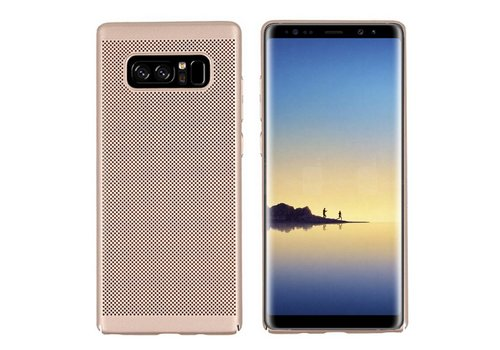 Case Mesh Holes Samsung Note 8 Gold