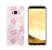 Colorfone CS Flowers for Sony XZ and XZs Pink+Purple+White