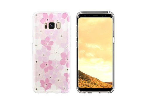CoolSkin Flowers Case for Sony XZ / XZs Pink+Purple+White