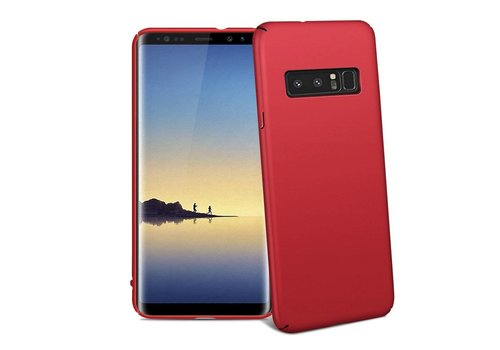 Samsung Note 8 Hoesje Rood - Mat