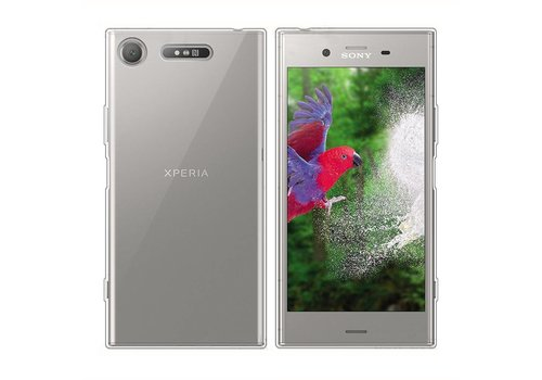 CoolSkin3T Sony Xperia XZ1 Transparent White