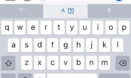 Apple iOS 11.1 bug - I cannot type!