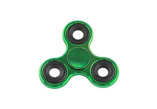 Hand Spinner Metalic Groen