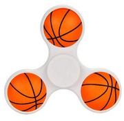 Fidget Spinner 3D Basketbal in Wit