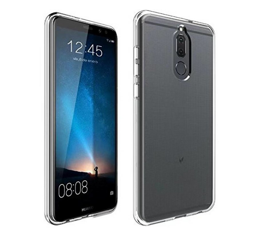 Huawei Mate 10 Lite Siliconen Hoesje Transparant - CoolSkin3T