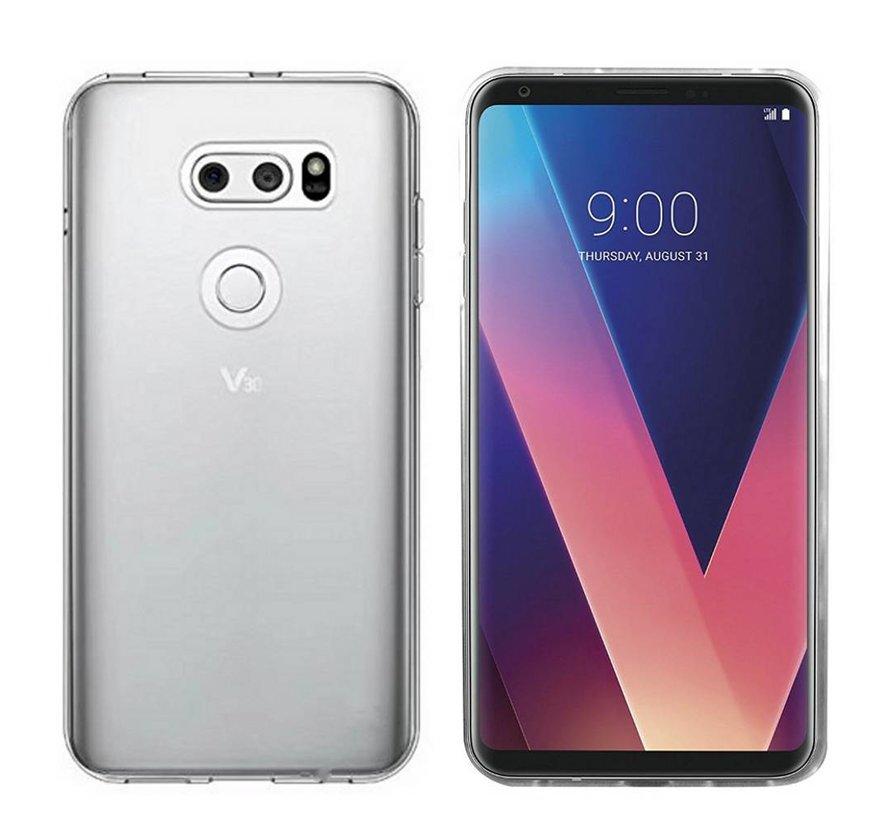 LG V30 Siliconen Hoesje Transparant - CoolSkin3T