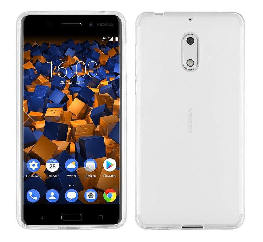 Nokia 6 Siliconen Hoesje Transparant - CoolSkin3T