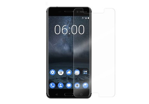 Nokia 6 Screenprotector Glas 9H