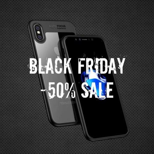 Black Friday 50% korting op smartphonehoesjes en accessoires Actiecode: FRIDAY50