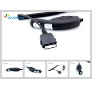 Colorfone Carcharger 1000 mAh Black for iPhone 2 till 4S