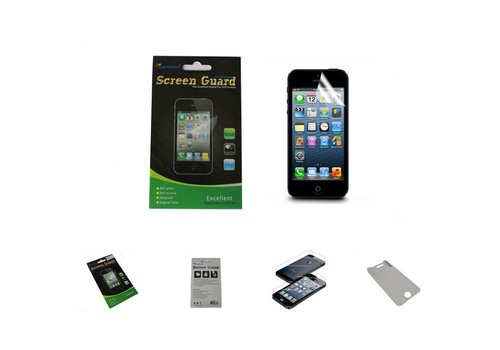 iPhone 5 - 5S Screenprotector Clear